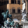 Stock Photo: The Fountain of Neptune in Florence, Italy