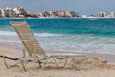 Cancun beach in Mexico — Stock Photo