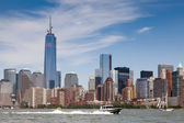 NYC Freedom Tower and the World Financial Center — Stock Photo