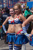 Coney Island Mermaid Parade — Stockfoto