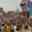 Coney Island Amusement Park — Stock Photo