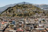 El Panecillo in Quito, Ecuador — Stock Photo