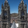 Basilica of the National Vow in Quito, Ecuador — Stock Photo