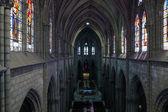 Basilique du vœu national à quito, équateur — Photo