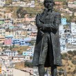 Statue of Eugenio de Santa Cruz — Stock Photo