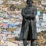 ������, ������: Statue of Eugenio de Santa Cruz