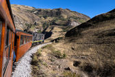 Nariz Del Diablo train ride — Stock Photo