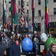 Постер, плакат: Egg sculptures at the Rockefeller Center