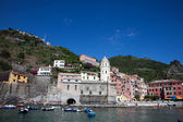 Vernazza, La Spezia, Liguria, northwestern Italy — Stock Photo