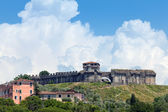 Fortaleza de sarzanello em sarzana, itália — Fotografia Stock