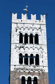 Bell Tower of the San Martino Cathedral in Lucca, built in 1070  — Stock Photo