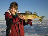Walleye Fishing — Stock Photo