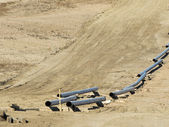 Natural Gas Pipeline — Stock Photo