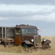 An old rusty farm truck — Stock Photo #39153553