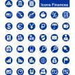 Stock Vector: Finances icons
