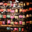 Chinese Lanterns in night view — Stock Photo