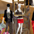 Mannequins display - Foto Stock
