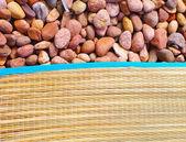 Tatami ile rusya taş beach — Stok fotoğraf