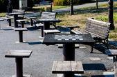 Tabele chessmate — Zdjęcie stockowe