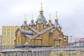 Ortodox church in Anadyr — Stock Photo