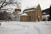 Studenica monastery — Stock Photo