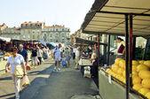 Mercado de belgrado — Foto de Stock