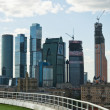 Moscow business city — Stock Photo #15427521