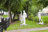 Park Statues — Stock Photo