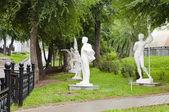 Park statyer — Stockfoto