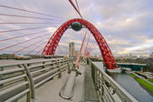 Zhivopisniy bridge — Stock Photo