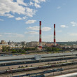 Stock Photo: Power plant in Moscow