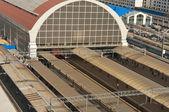 Railway station in Moscow. Kiev direction — Stock Photo