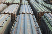 Steel slabs — Stock Photo