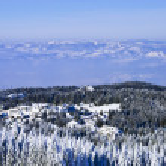 Kopaonik view. Winter. — Stock Photo