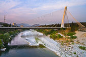 Maraca bridge. Podgorica. — 图库照片