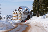 Hotel in Kopaonik — Stock Photo