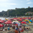 Ulcinj town beach — Stock Photo #18587399