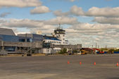 Yakutsk airport — Stock Photo
