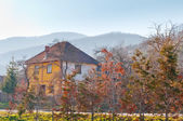 House in Serbian village — Stock Photo