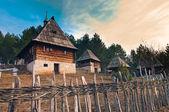 Ethno village Sirogojno — Stock Photo