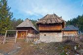 Etno villaggio sirogojno — Foto Stock
