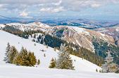 コパオニク国立公園でスキー場のリフトをドラッグ — ストック写真