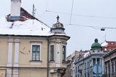 Distriktet zemun i belgrad — Stockfoto