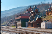 Mokra Gora station — Stock Photo