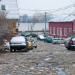 Stock Photo: Zemun street