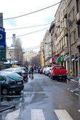 Calle belgrado — Foto de Stock