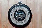 Barómetro de preto velho — Foto Stock