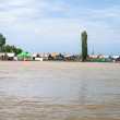 Stock Photo: Villages on Volga
