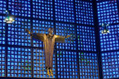 基督在 gedachtniskirche — 图库照片