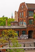 View from U-Bahn station — Stock Photo